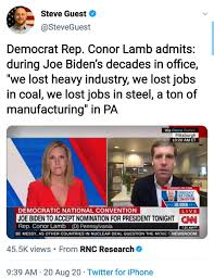 Sean Parnell - 🚨BREAKING🚨 Conor Lamb ...