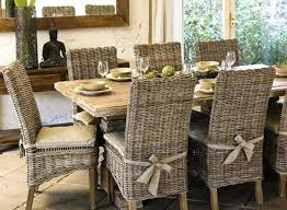 wicker dining set rustic table and parsons chairs for inside room idea 0 wicker dining set