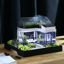 office aquarium. Beautiful Office Office Desk Fish Tank Acrylic Mini Micro Landscape Aquarium Pertaining To  For Idea 9 Diy The Appearance In Addition Ease Tend Be A D