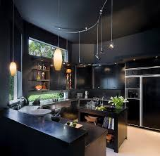 modern kitchen design 2015. View In Gallery Gorgeous Contemporary Kitchen For Those Who Love Black! [ Design: Tomas Frenes Design Studio Modern Design 2015