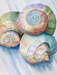 balance in spirals watercolor painting painting by mice wiarda balance in spirals watercolor painting fine
