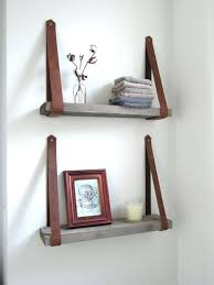 wall mounted ladder small bathroom shelves ideas white sink and faucet wooden back chair towel bar shelf8 towel