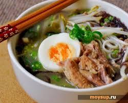 Японский суп <b>рамен</b> - классический рецепт приготовления +фото