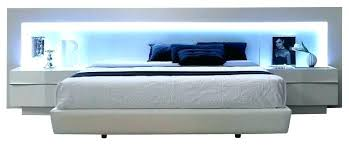modern king bed frame. Modern King Bed Bedroom Sets White Contemporary California Frame F
