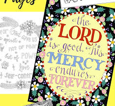Small Picture Free Christian Coloring Pages for Adults Roundup JoDitt Designs