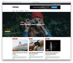Wordpress Template Newspaper 25 Best Free Responsive Magazine Wordpress Themes 2019
