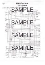 toyota diesel pickup ebay 1983 Toyota Pickup Wiring Diagram 1983 toyota pickup & diesel pickup color coded chassis wiring diagram 83bk 4pgs 1986 toyota pickup wiring diagram