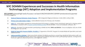 1 Medicaid Managed Care Behavioral Health Information