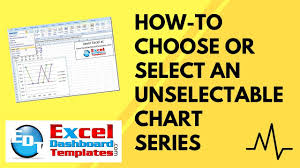 How To Select Series In Excel Chart How To Select Data Series In An Excel Chart When They Are Un
