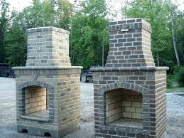 build your own outdoor fireplace kit kits brick build your own outdoor fireplace