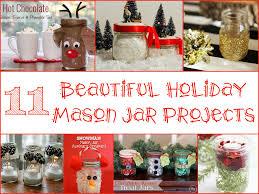 Mason Jar Decorating Ideas For Christmas Beautiful Holiday Mason Jar Projects 22