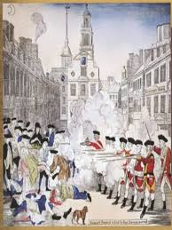 the boston massacre of print made by paul revere showing the boston massacre of 1770 print made by paul revere showing british iers firing on