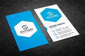 Clean Business Card Template Business Card Templates Creative Market