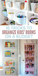 how to organize a childs bedroom. Wonderful Childs 16 Ways To Organize Your Kidsu0027 Rooms On A Budget In How To A Childs Bedroom