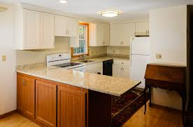 Blank Kitchen Wall Kitchen Room Old Brown Style Reface Kitchen Cabinets And Lamp On