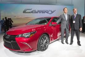 2015 camry concept. Wonderful Camry 2014 NYIAS  2015 Toyota Camry Reveal 002 To Concept