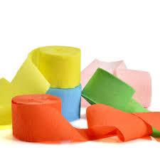 <b>10M</b> Colorful <b>Crepe Paper Streamer Roll</b> Wedding Birthday Party ...