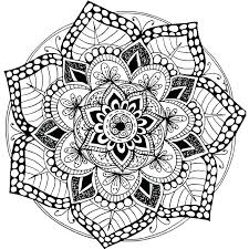 Printable Adult Color Pages Best Printable Mandalas To Color Free