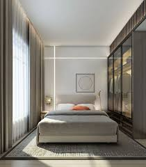 Stunning wall details on modern bedroom design