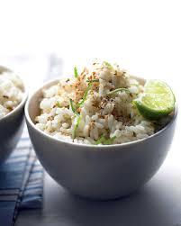Asian rice side dish