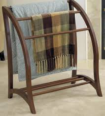 Quilt Stands For Display Gorgeous Wood Blanket Rack Quilt Hanger Antique Vintage Walnut Display
