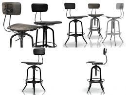vintage toledo bar chair 3d model max obj 3ds fbx c4d skp 1