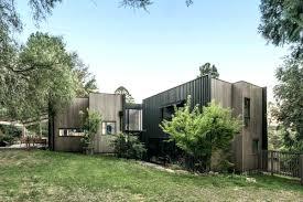 modern split level homes this modern house with a dark exterior has split levels inside and modern split level homes