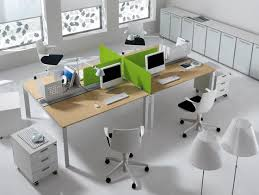office arrangement. Attractive-arrangement-for-four Office Arrangement B