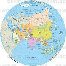 globe map of the world  grahamdennisme