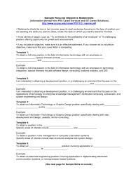 Job Resume Objectives Examples Good Resume Objectives Examples Job Resume Objective Examples 20