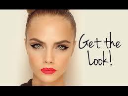 cara delevingne feline flick makeup tutorial wayne goss