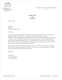 6 Job Offer Letter Template Outline Templates
