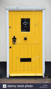 cottage front doorsYellow Cottage Front Door Uk Stock Photos  Yellow Cottage Front