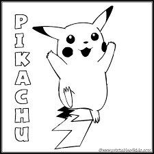 pokemon pikachu coloring page printables for kids free word search puzzles coloring pages and other activities