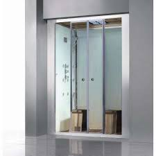 deluxe 2 person steam shower enclosure kit with sliding doors
