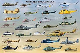 Military Helicopters Poster Print 36x24 Poster Print 36x24