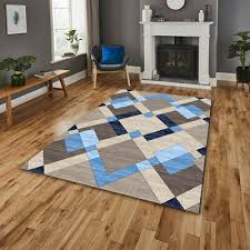 details about new teal modern area rug luxurious thick carved soft heavy large floor mat uk
