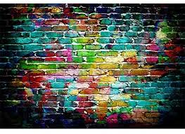 <b>Laeacco</b> 7x5ft <b>Colorful Brick</b> Wall Backdrop for Photography ...