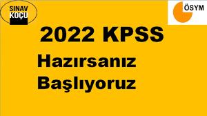 2022 KPSS Başlıyoruz - YouTube