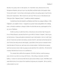 memoir essay  and 2