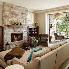 Stylish Ideas Decor Around Fireplace Home With Baxter Decorating A ..