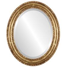 antique oval mirror frame. Dorset Framed Oval Mirror In Champagne Gold - Antique Free Shipping Today Overstock 26113997 Frame
