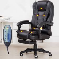 home office computer desk massage chair with footrest reclining with regard to popular property massage desk chair ideas