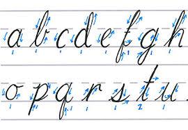 cursive calligraphy feature image