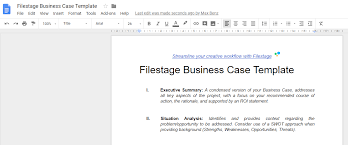 Simple Business Case Templates This Business Case Template Takes Your Projects To The Next Level