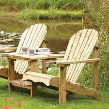 rowlinson adirondack garden outdoor chair companion seat