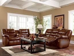 Italian Living Room Furniture Sets Traditional Brown Bonded Leather Sofa Loveseat Chair 3 Piece
