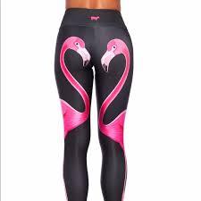 Goldsheep Flamingo Leggings