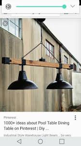 Old Warehouse Light Fixtures Industrial Farmhouse Light Fixture Perfect To Hang Above
