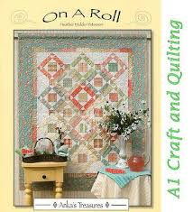 Quilting books | A1 Craft and Quilting, Australia & On a Roll - Book, Heather Mulder Peterson - Use up your Pre-cuts Adamdwight.com
